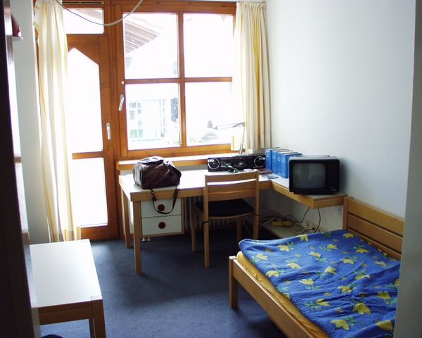 Einzelappartement am Campus